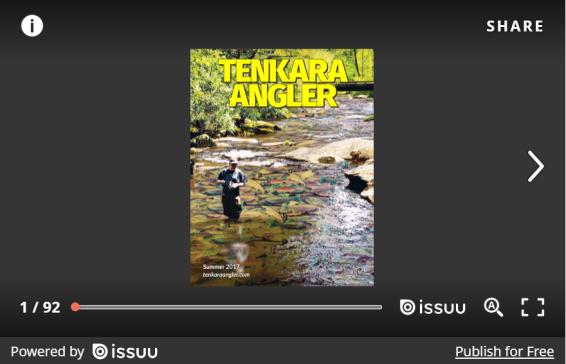 Tenkara Angler Summer 2017 Embed
