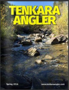 Tenkara Angler - Spring 2016 Cover