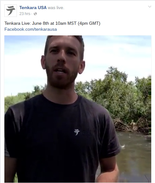 Tenkara_USA_Facebook_Live_Video_Stream