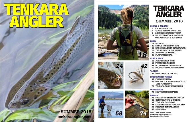 Tenkara Angler - Summer 2018