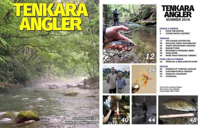 Tenkara Angler Summer 2019 Spread Web
