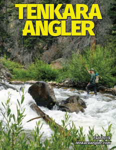 Tenkara Angler Fall 2019 - Cover Web